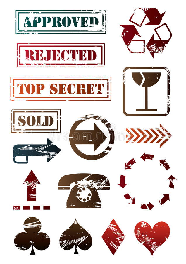 Download Signs and arrow stock vector. Image of moving, marker - 9429562
