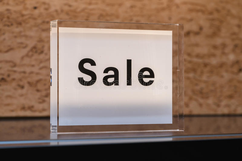 Signs discount. On sale sign stock photo
