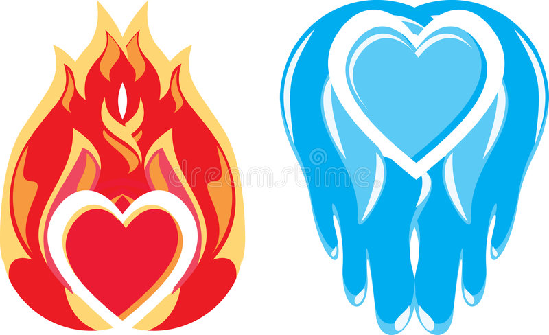 Download Signs - Fondness And Coldness Stock Vector - Illustration of clip, coldness: 3682191