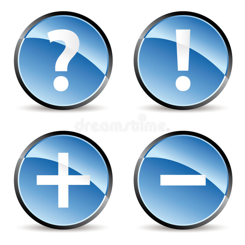 Signs Icons Stock Images