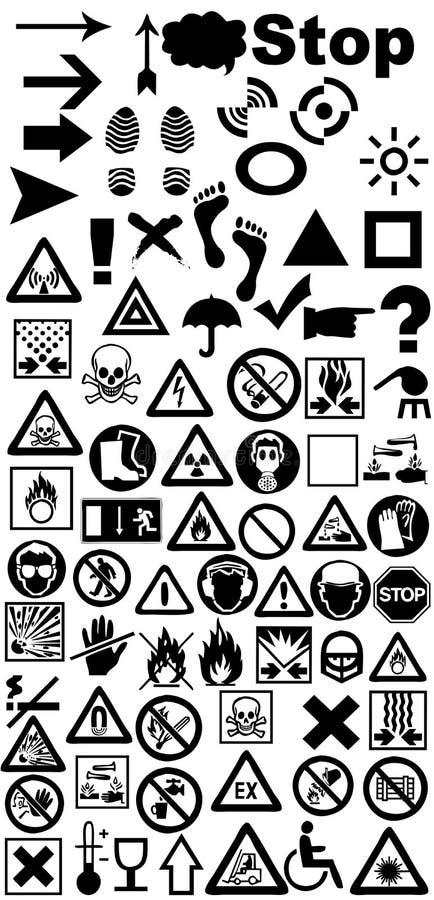 Download Signs  prevention stock illustration. Illustration of beware - 17810360