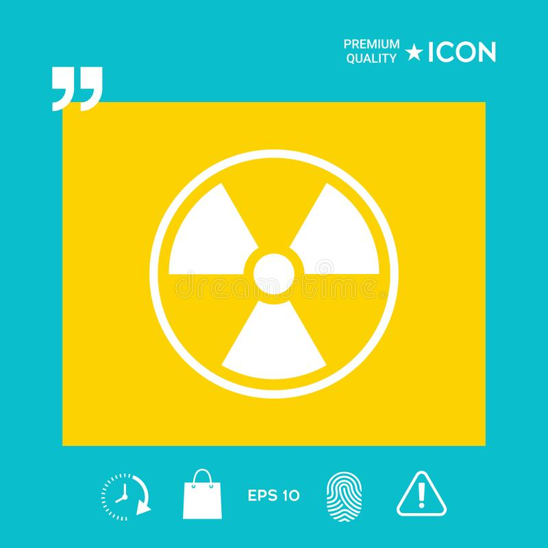 Ionizing Radiation Icon Stock Vector Illustration Of Energy 110714496