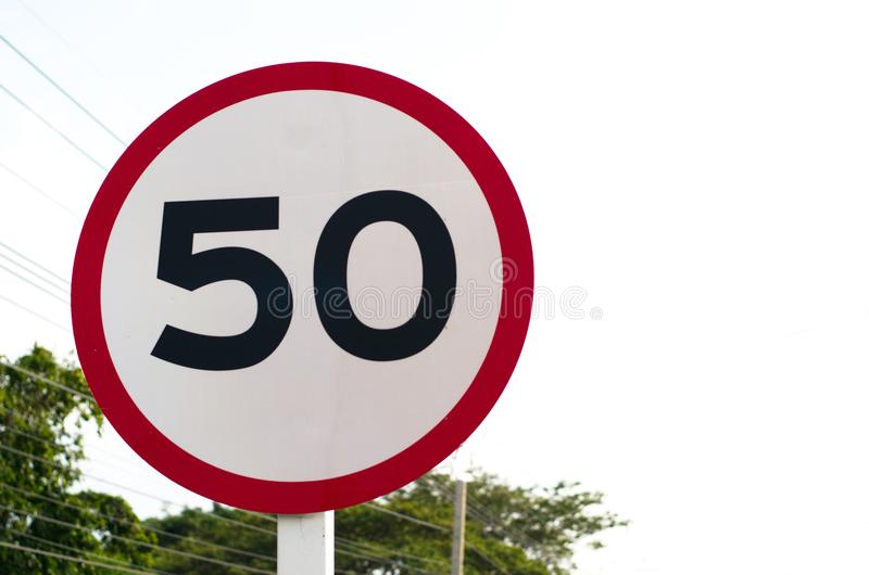 Signs and Symbols. Traffic routing and alert on the road to the vehicle royalty free stock photography