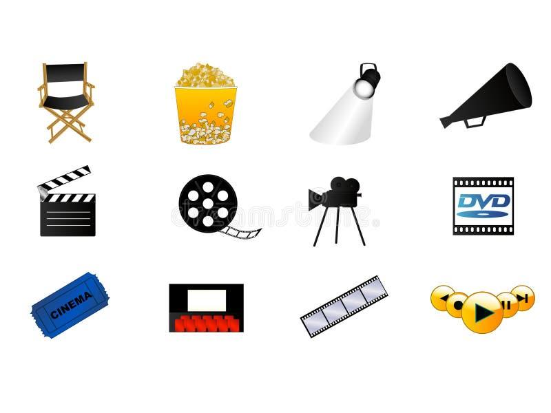 SignsCinema stock de ilustración