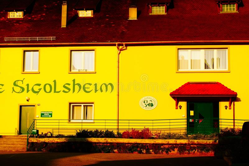 Sigolsheim France royalty free stock photography