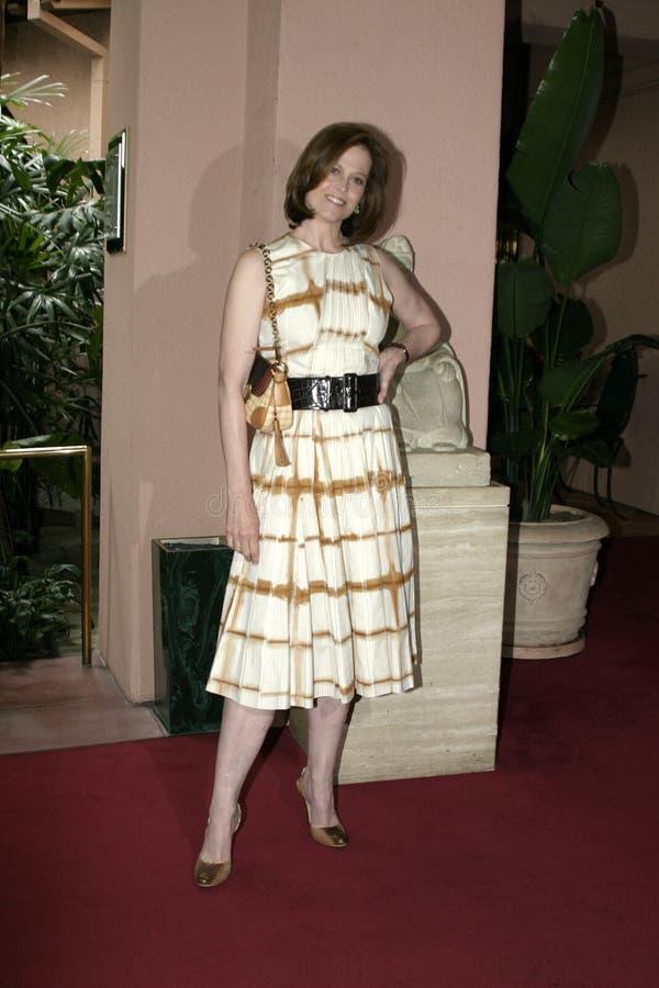 Sigourney Weaver imagen de archivo libre de regalías