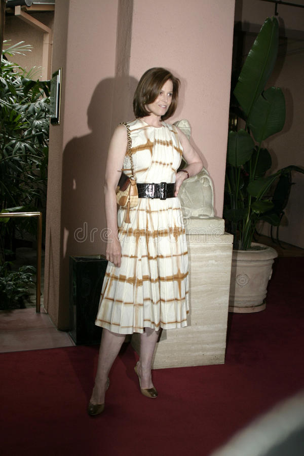 Sigourney Weaver. At the 2004 Crest Whitestrips Style Awards held at the at Beverly Hills Hotel in Beverly Hills, California, United States on June 16, 2004 stock photos