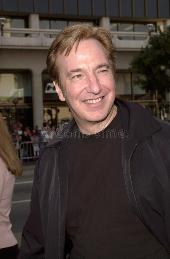 Alan Rickman. 19DEC99: Actor ALAN RICKMAN at the Los Angeles premiere of his new movie 'Galaxy Quest' in which he stars with Sigourney Weaver & Tim Allen. (for stock image