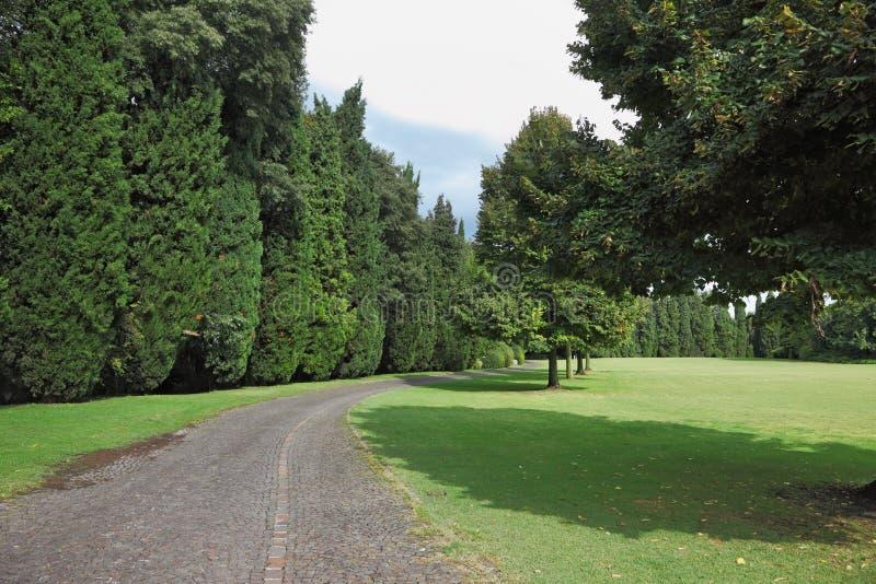 sigurta πάρκων ξέφωτων κήπων στοκ εικόνα