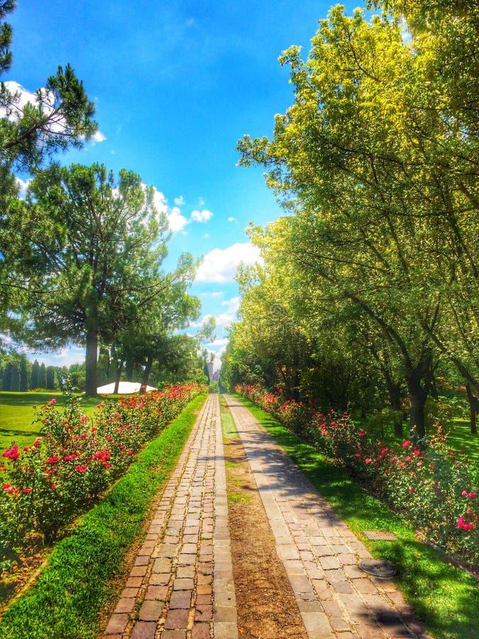 Sigurta park, Włochy zdjęcie stock
