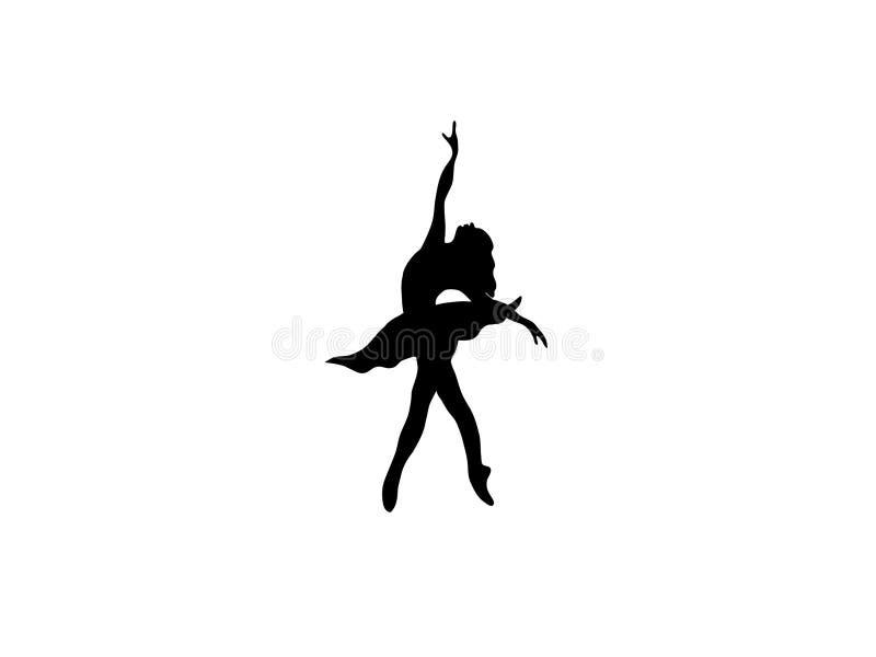 Sihouette de danse images stock