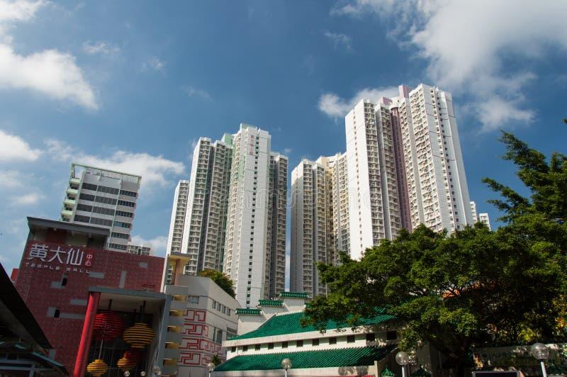 Sik-sik Yuen Wong Tai Sin Temple in Hong Kong stockfotografie
