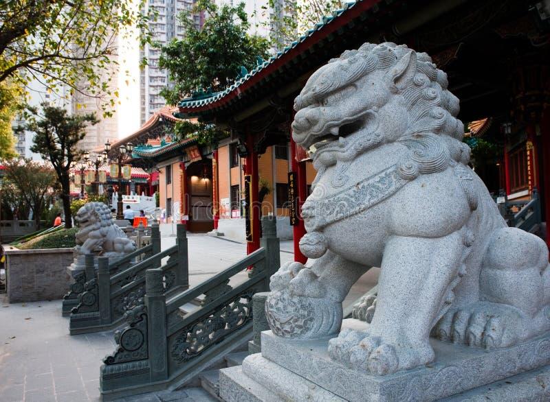 sik syndar tai-tempelwong yuen royaltyfria foton