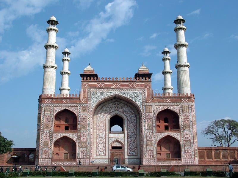 Sikandra Gatway, Agra, India foto de stock royalty free