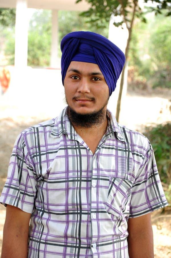 Sikh boy royalty free stock photo