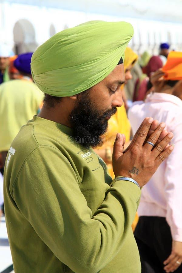 Sikh divotee royalty-vrije stock afbeelding