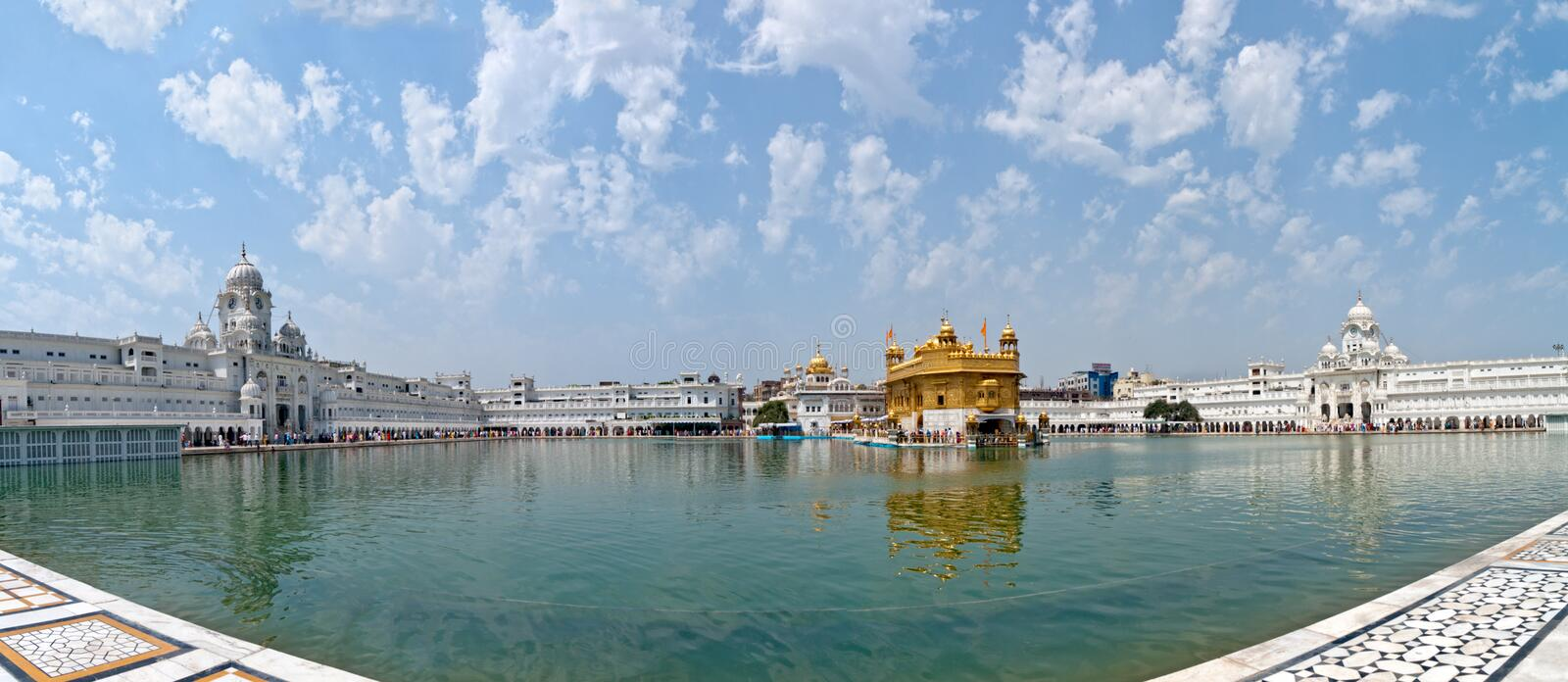 Sikh Golden Temple Stock Image