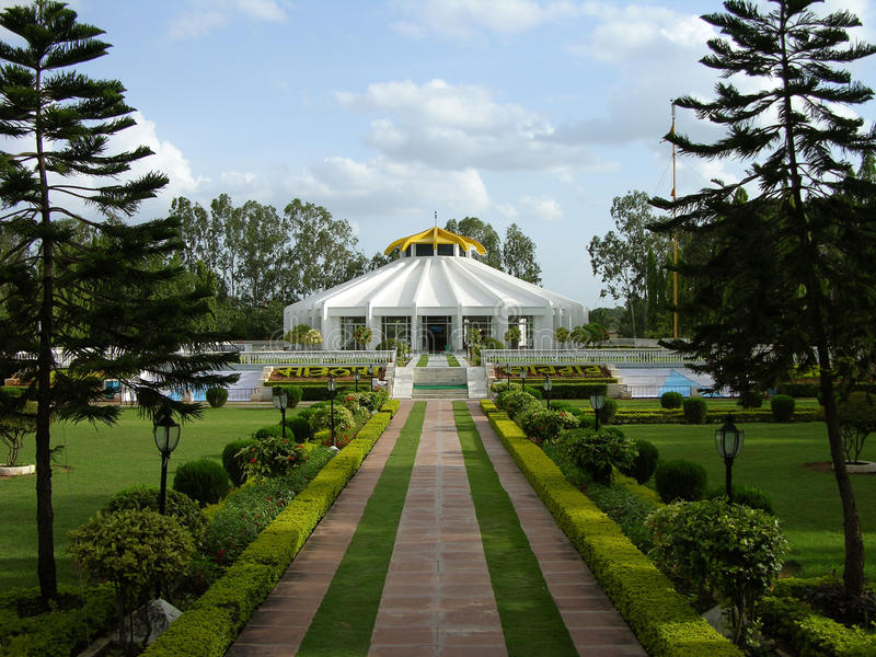 Sikh Gurudwara India. Sikh Gurudwara in Secunderabad India royalty free stock images