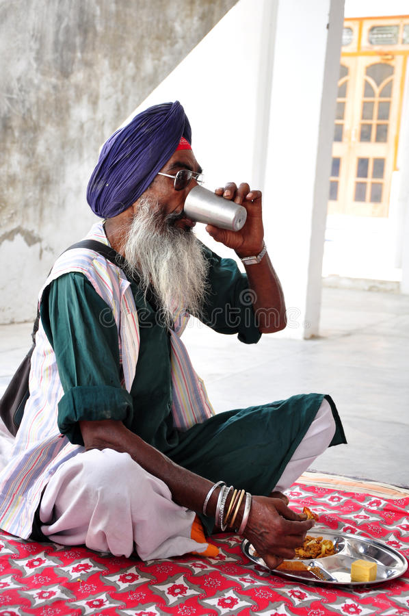 Sikh man royalty free stock images