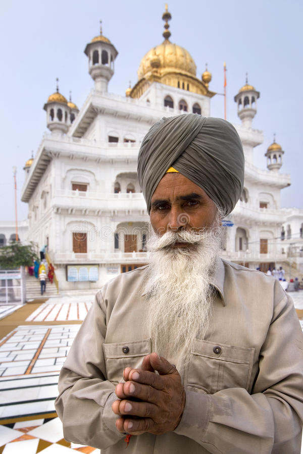Download Sikh Man At The Akal Takht - Amritsar - India Editorial Photo - Image: 15600371