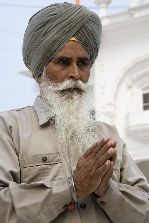 Download Sikh Man At The Akal Takht - Amritsar - India Editorial Image - Image: 32748180