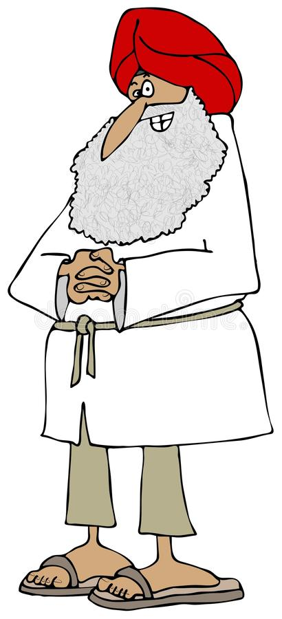 Download Sikh man stock illustration. Image of elderly, senior - 36501839