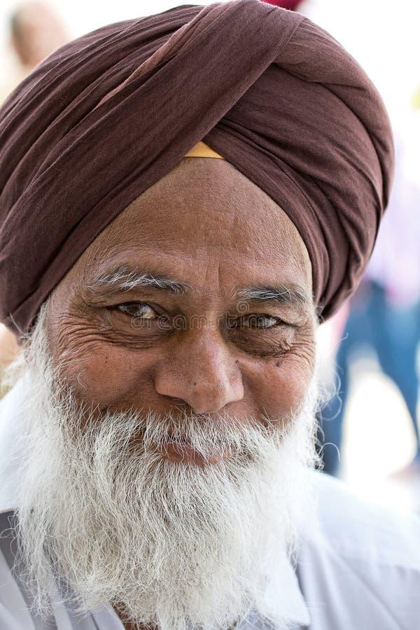 Sikh Men In Amritsar, Punjab, India. Editorial Stock Image