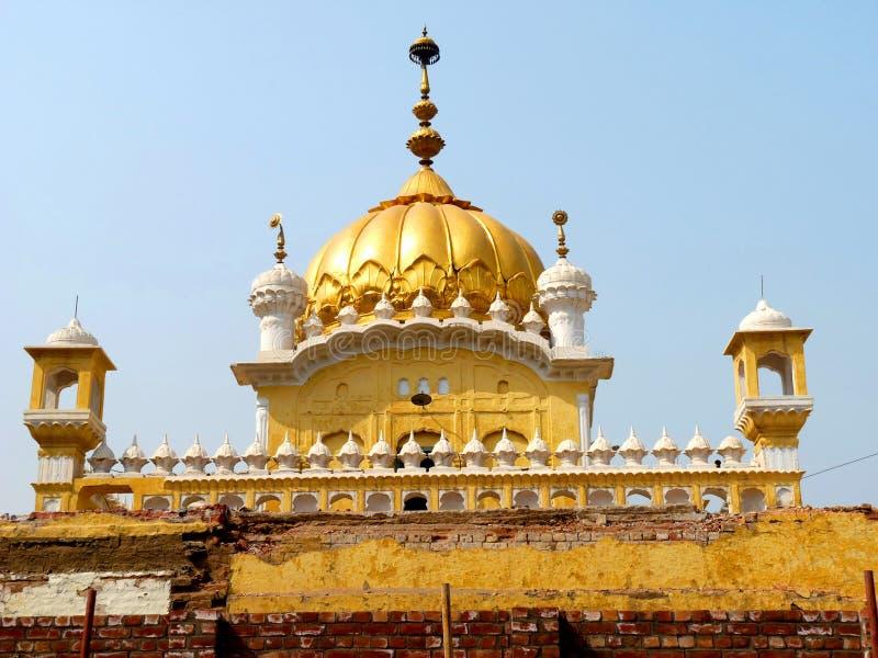 Sikh Tempel in Lahore stock foto