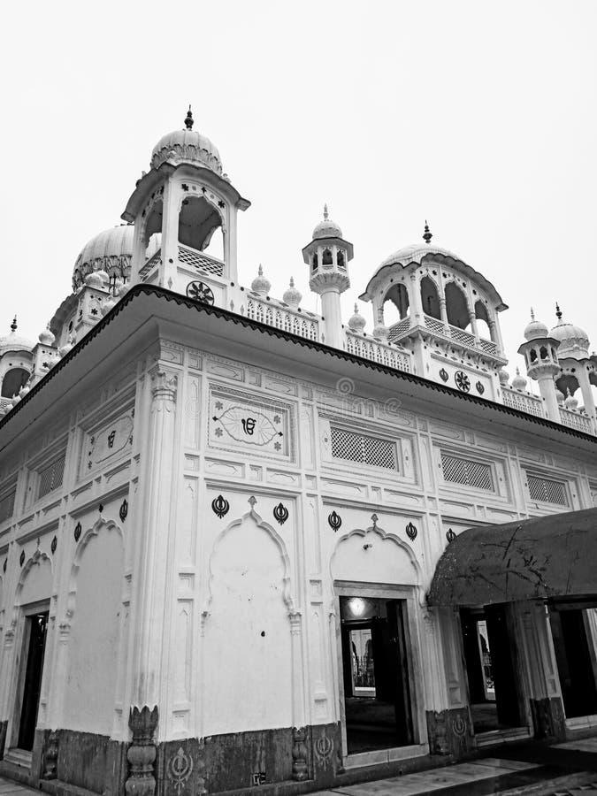 Sikh_Temple 免版税库存照片