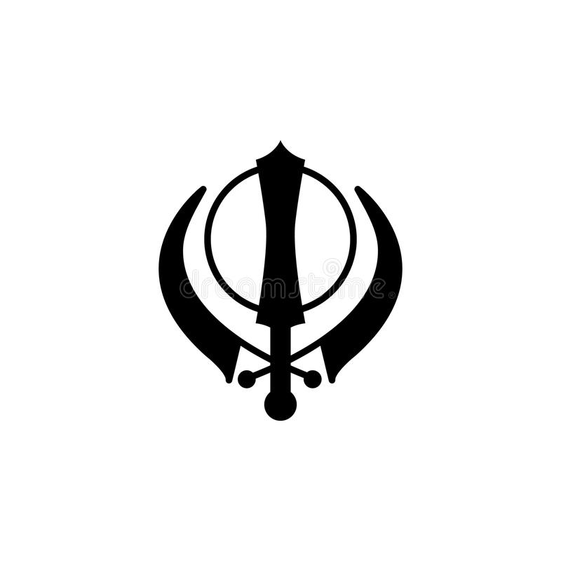 Sikhism Khanda Sign Icon Element Of Religion Sign Icon For Mobile