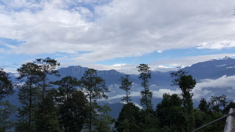Sikkim stock photography