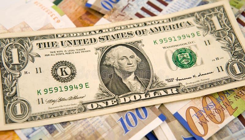 siklar för dollar en royaltyfria foton
