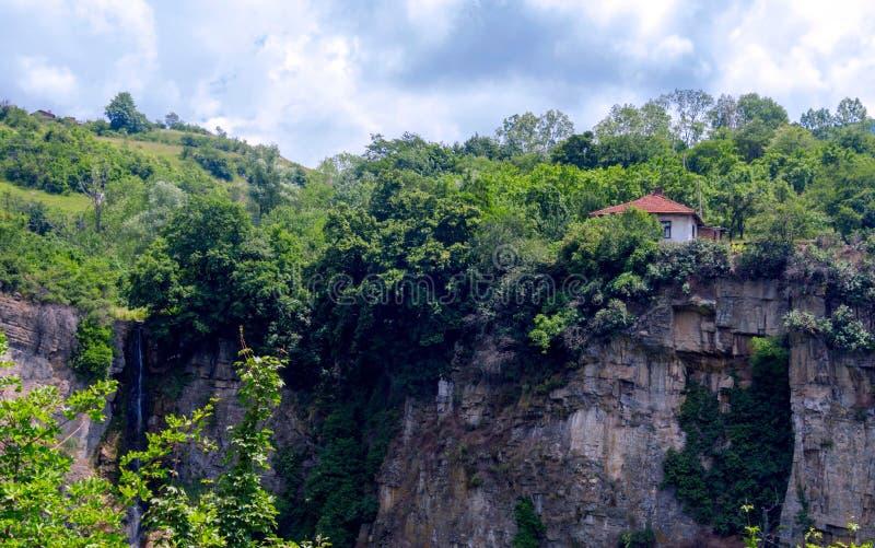 Siklawa - Gar Bov, Bułgaria zdjęcie stock