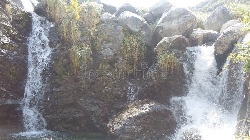 Siklawa w Merlo, san luis Argentyna zdjęcie stock