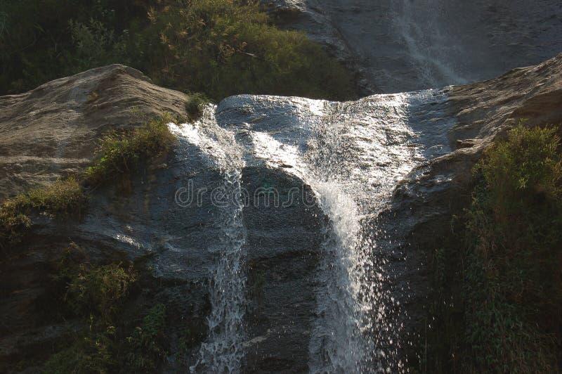 Siklawa w Nepal zdjęcie royalty free
