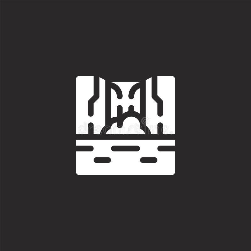 Siklawy ikona Wypełniająca siklawy ikona dla strona internetowa projekta i wiszącej ozdoby, app rozwój siklawy ikona od wypełniaj ilustracja wektor
