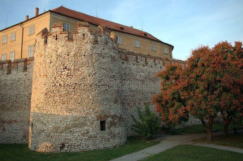 siklos de la Hongrie de forteresse photo libre de droits