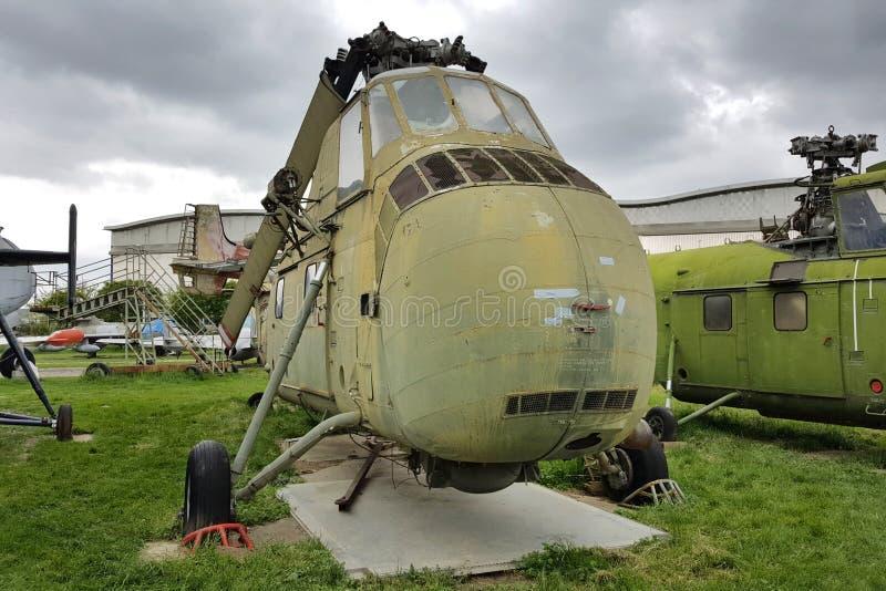 Sikorsky H-34 fotografie stock