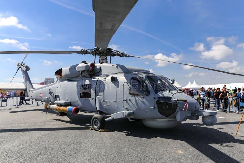 Sikorsky S-70B Seahawk в Teknofest Стамбуле стоковая фотография rf