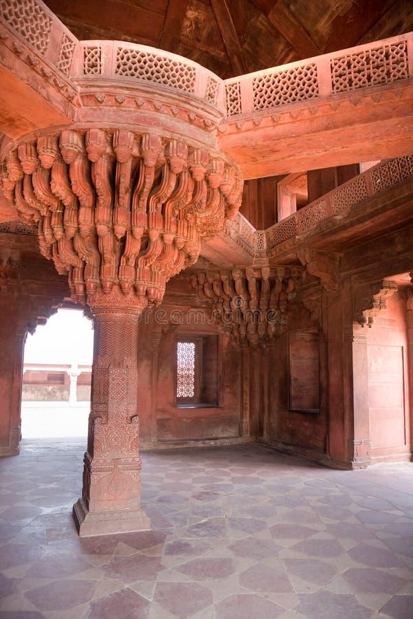 sikri Раджастхана fatehpur зодчества индийское стоковая фотография rf