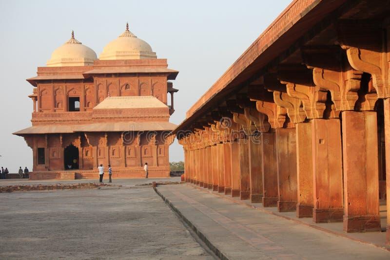 sikri de l'Inde de fatehpur d'agra photos libres de droits