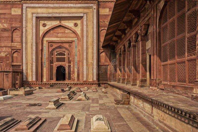 sikri de l'Inde de fatehpur Une vue de tombe de Salim Chishti photo libre de droits