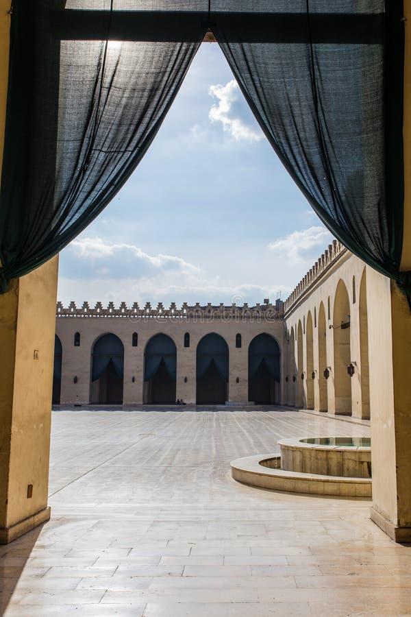 Sikt av al-Hakimmoskén arkivfoton
