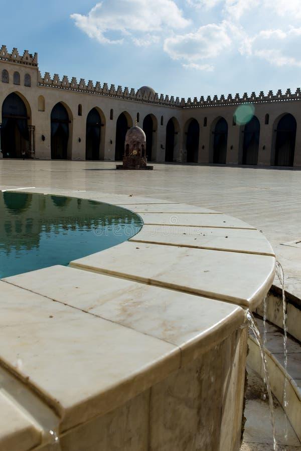 Sikt av al-Hakimmoskén arkivfoto