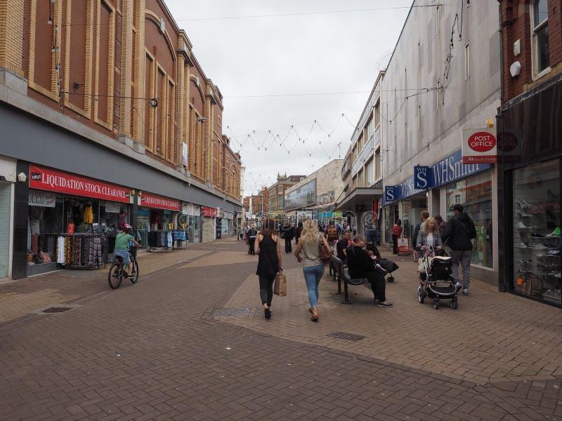 Sikt av Blackpool arkivbild