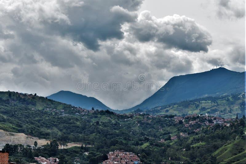 Sikt av Cerro Las Baldias royaltyfri foto