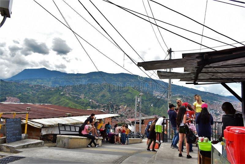 Sikt av Cerro Las Baldias royaltyfria bilder