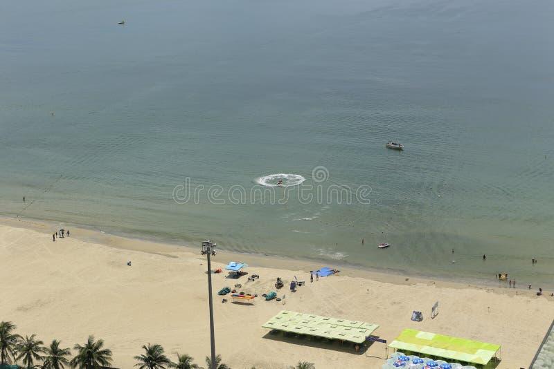 Sikt av Danang i Vietnam arkivfoton