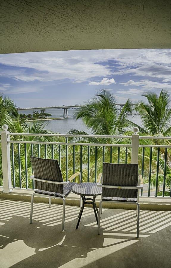 Sikt av den Sanibel ön i Florida royaltyfria foton