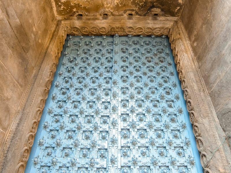 Sikt av den Sri Jalakandeswarar templet i Vellore arkivbilder
